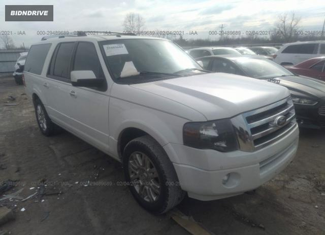 Lot #1659638033 2014 FORD EXPEDITION EL LIMITED salvage car