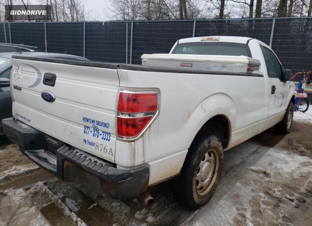 Lot #1660240503 2010 FORD F150 salvage car