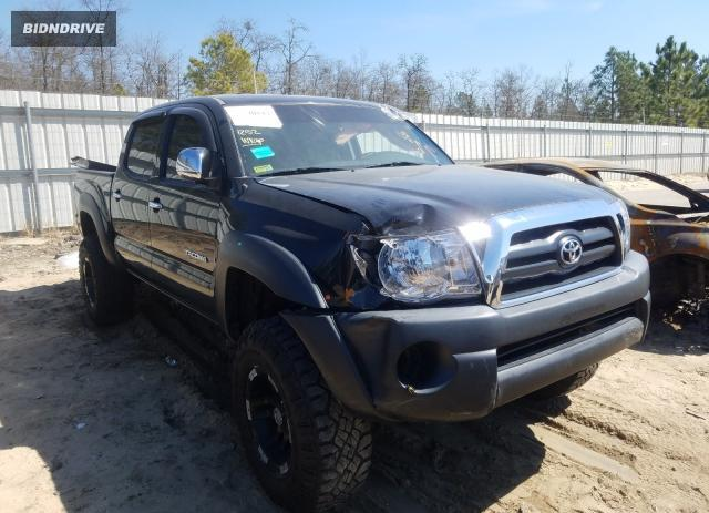 Lot #1666402006 2010 TOYOTA TACOMA DOU salvage car