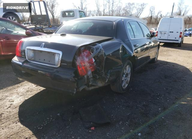 Lot #1673738653 2008 LINCOLN TOWN CAR E salvage car