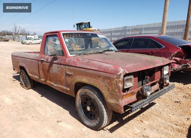 Lot #1674126883 1983 FORD RANGER salvage car