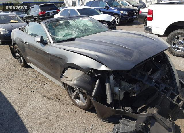 Lot #1676292286 2016 FORD MUSTANG salvage car