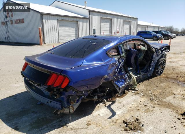 Lot #1678316003 2015 FORD MUSTANG salvage car