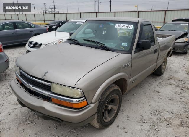 Lot #1678373749 2000 CHEVROLET S TRUCK S1 salvage car