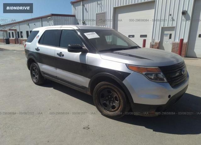 Lot #1678709606 2013 FORD UTILITY POLICE salvage car