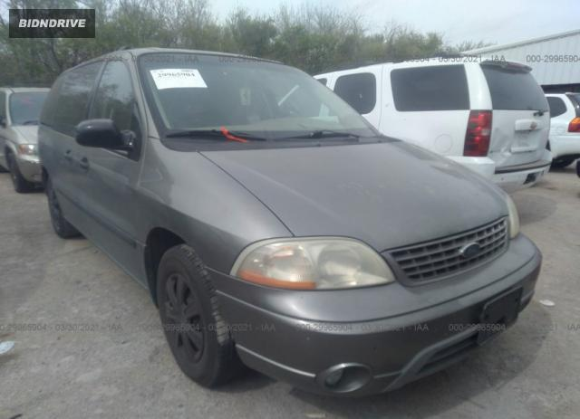 Lot #1678712183 2003 FORD WINDSTAR WAGON LX salvage car