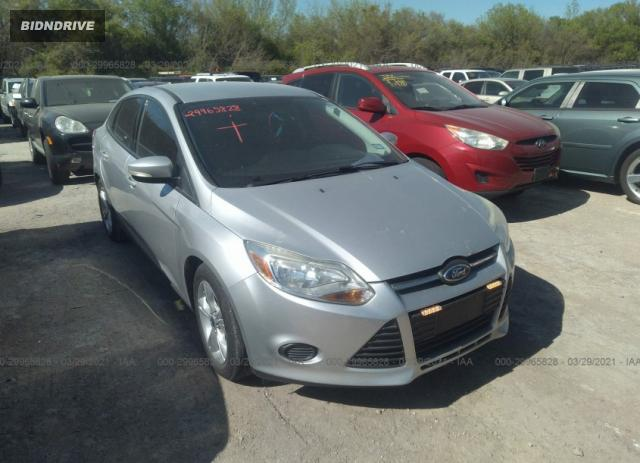 Lot #1678712186 2014 FORD FOCUS SE salvage car