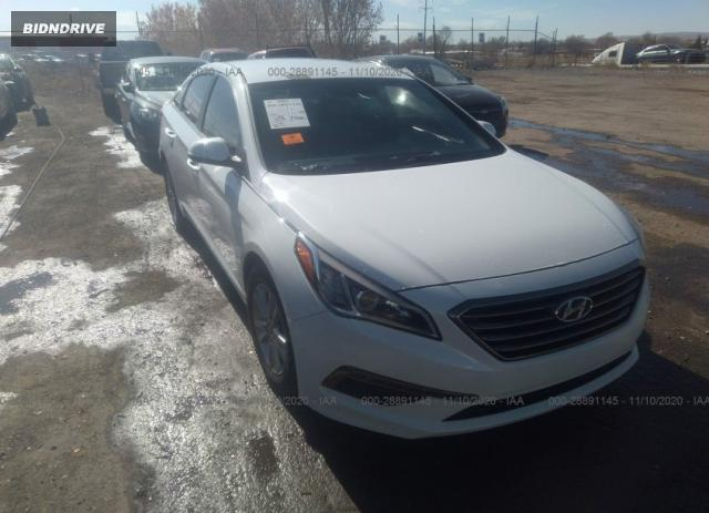 Lot #1678712209 2016 HYUNDAI SONATA 1.6T ECO salvage car