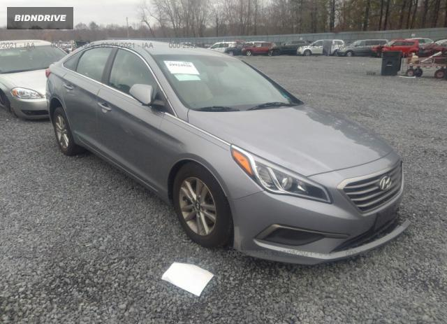 Lot #1679712186 2016 HYUNDAI SONATA 2.4L SE salvage car