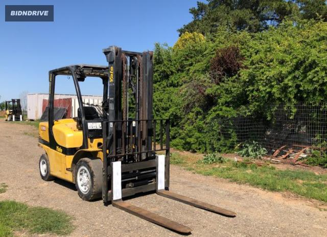 Lot #1679828799 2007 YALE FORKLIFT salvage car