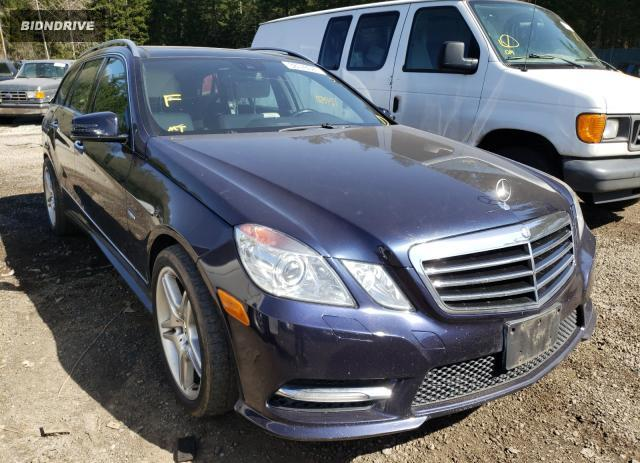 Lot #1679854133 2012 MERCEDES-BENZ E350 4MAT salvage car