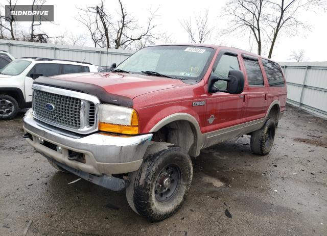 Lot #1679879649 2001 FORD EXCURSION salvage car