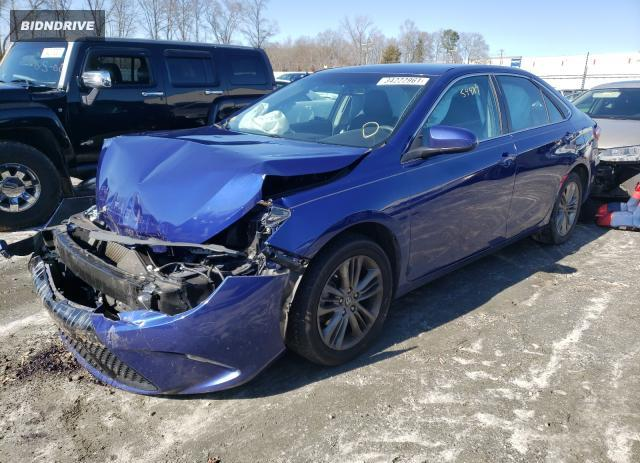 Lot #1680354619 2016 TOYOTA CAMRY LE salvage car