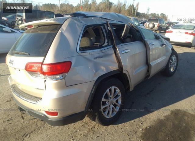 Lot #1680683029 2014 JEEP GRAND CHEROKEE LIMITED salvage car