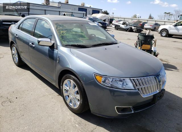 Lot #1680684666 2012 LINCOLN MKZ salvage car