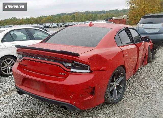 Lot #1680798119 2016 DODGE CHARGER R/ salvage car