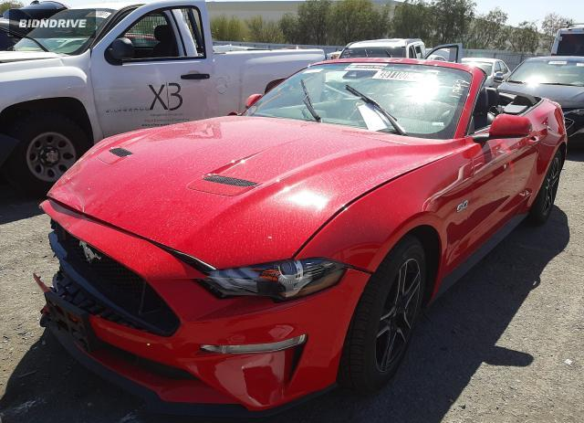 Lot #1680899929 2021 FORD MUSTANG GT salvage car