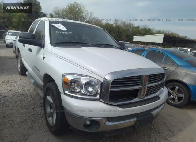 Lot #1681179923 2007 DODGE RAM 1500 SLT salvage car