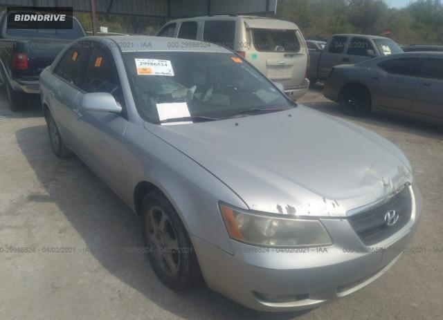 Lot #1681179943 2006 HYUNDAI SONATA GLS/LX salvage car