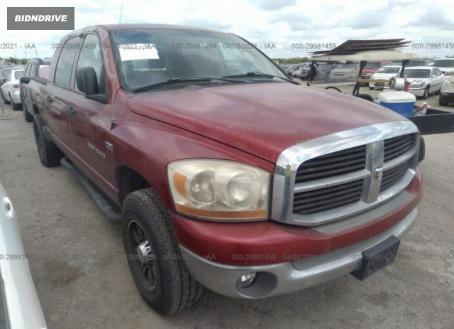 Lot #1681195053 2006 DODGE RAM 1500 SLT salvage car