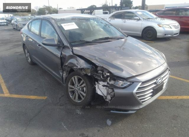 Lot #1681195109 2018 HYUNDAI ELANTRA SEL salvage car