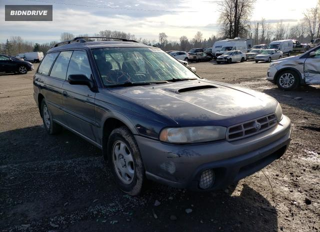 Lot #1681260646 1997 SUBARU LEGACY OUT salvage car