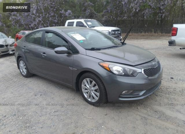 Lot #1681688393 2016 KIA FORTE LX salvage car
