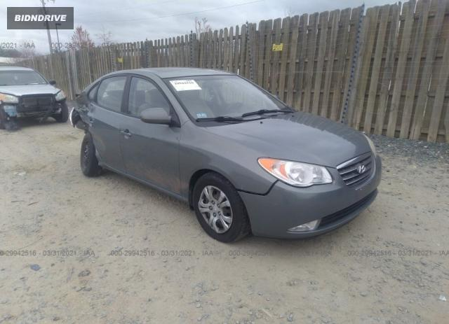 Lot #1681688429 2009 HYUNDAI ELANTRA GLS PZEV salvage car