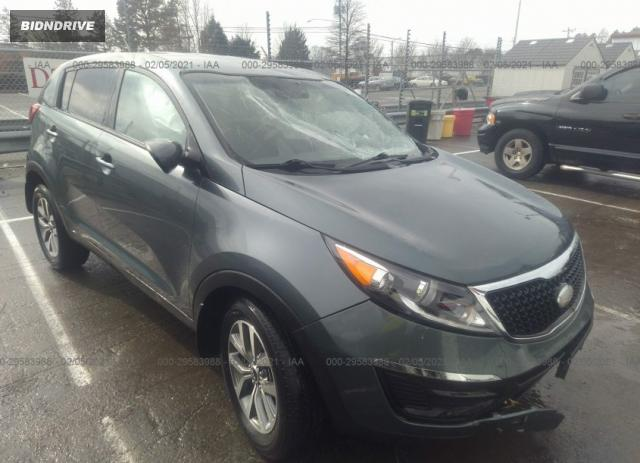 Lot #1681688599 2014 KIA SPORTAGE LX salvage car
