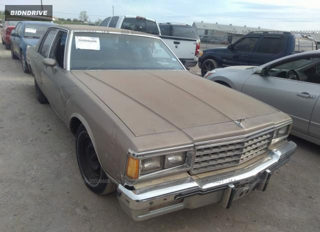 Lot #1681688729 1984 CHEVROLET CAPRICE CLASSIC salvage car