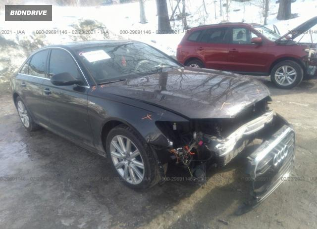 Lot #1683225269 2014 AUDI A6 3.0T PRESTIGE salvage car
