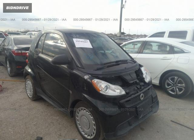 Lot #1684726843 2015 SMART FORTWO PASSION/PURE salvage car