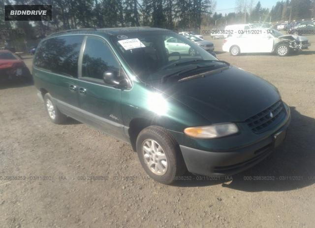Lot #1685141186 1997 PLYMOUTH VOYAGER SE salvage car
