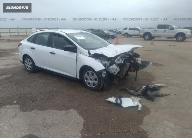 Lot #1688076486 2015 FORD FOCUS S salvage car