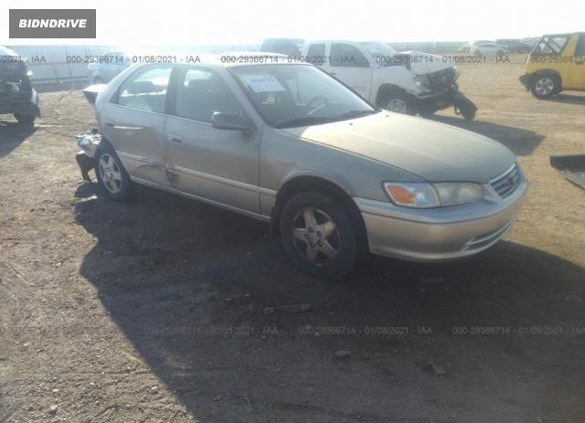 Lot #1688076499 2001 TOYOTA CAMRY CE/LE/XLE salvage car