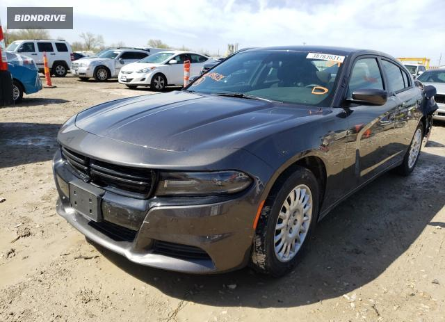 Lot #1689177623 2020 DODGE CHARGER salvage car