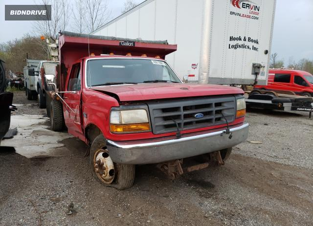 Lot #1691272109 1997 FORD F350 salvage car