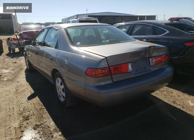 Lot #1692293433 2001 TOYOTA CAMRY CE salvage car