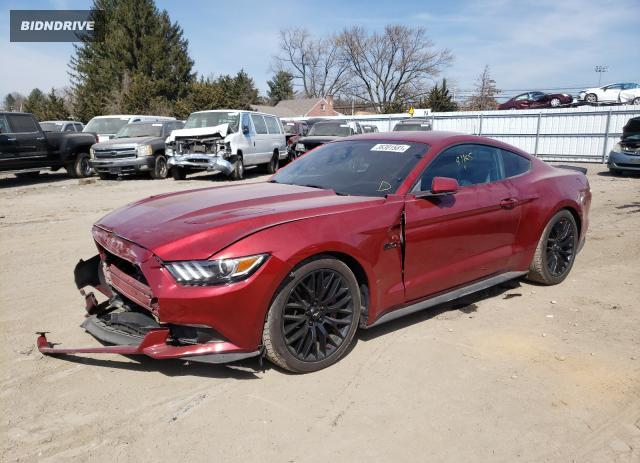 Lot #1693600636 2015 FORD MUSTANG GT salvage car