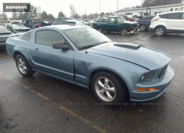 Lot #1693929729 2007 FORD MUSTANG GT salvage car