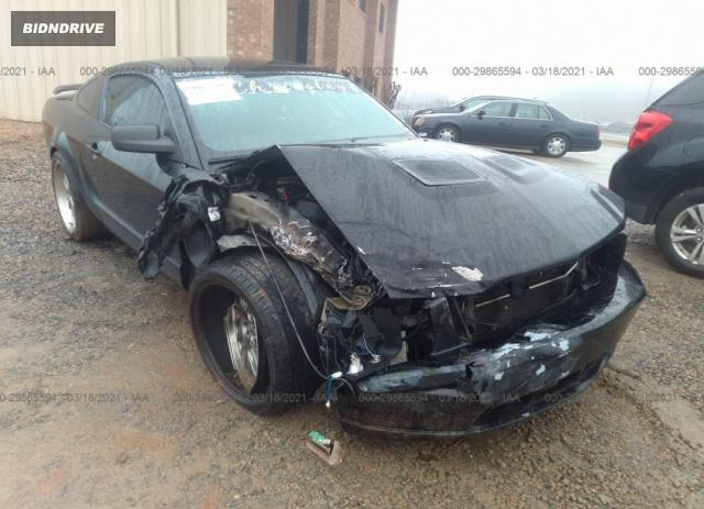 Lot #1694430906 2008 FORD MUSTANG GT salvage car