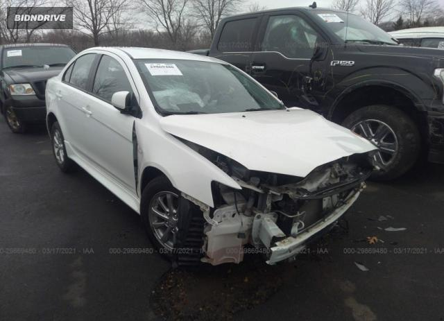 Lot #1694430933 2013 MITSUBISHI LANCER ES salvage car