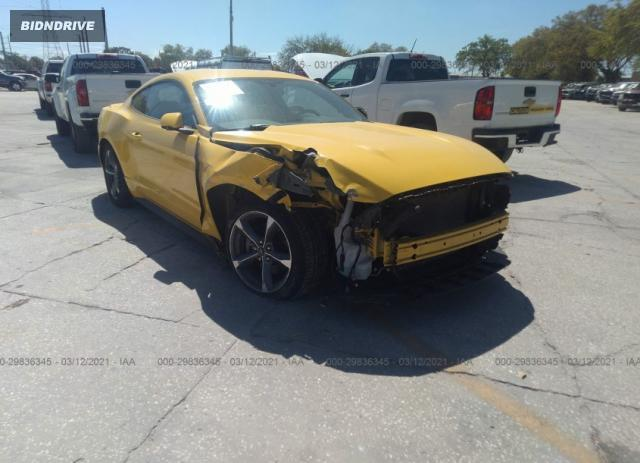 Lot #1694431019 2015 FORD MUSTANG V6 salvage car