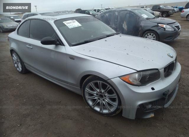 Lot #1694439049 2009 BMW 1 SERIES 128I salvage car