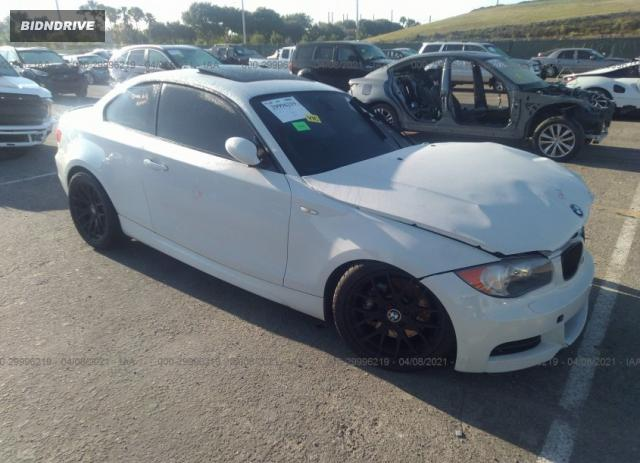 Lot #1694469266 2008 BMW 1 SERIES 135I salvage car