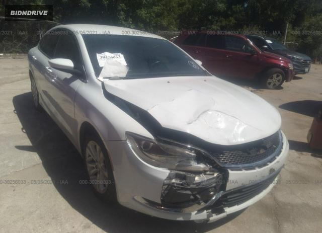 Lot #1694925349 2015 CHRYSLER 200 LIMITED salvage car