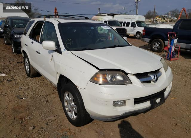 Lot #1697160266 2005 ACURA MDX TOURIN salvage car