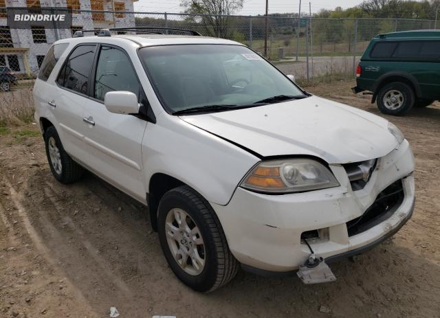 Lot #1697660843 2005 ACURA MDX TOURIN salvage car