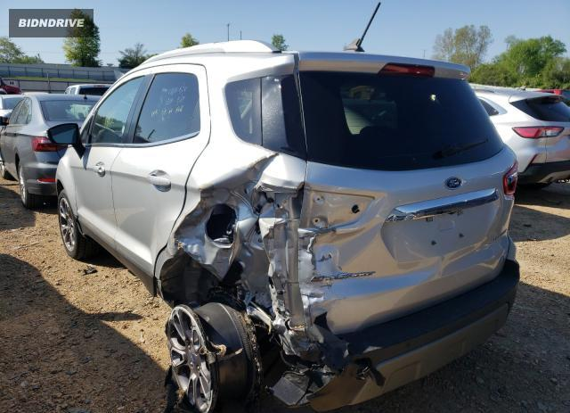 Lot #1698136439 2020 FORD ECOSPORT T salvage car