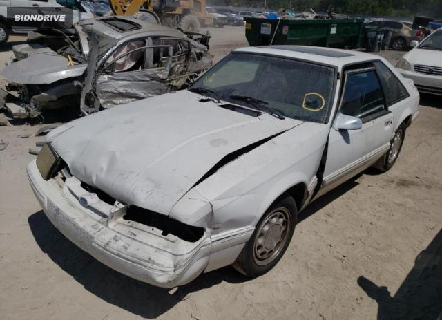 Lot #1706160489 1993 FORD MUSTANG LX salvage car